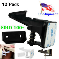 12pc Child Safety Table Desk Cabinet Locks Lock Latches Baby Kid Proofing