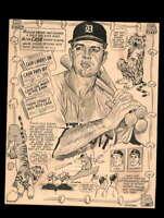 Norm Cash JSA Coa Signed 8x10 Photo Autograph