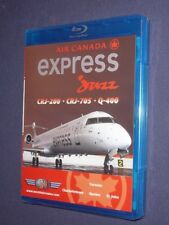 JUST PLANES COCKPIT VIDEO :   AIR CANADA  EXPRESS Jazz    Blu-Ray  ( East )  new