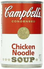 Campbells Condensed Soup, Chicken Noodle, 10.75 Ounce Pack of 6