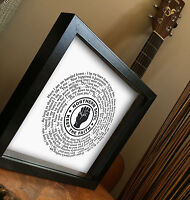 Frank Wilson Northern Soul Do I Love You Indeed I Do Vinyl Record Framed Print