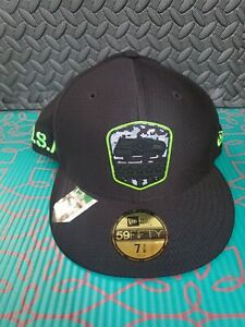NEW Era 59Fifty Salute To Service Seattle Seahawks  Black Cap/ Hat Size 7 3/8