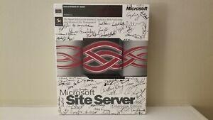 Vintage Microsoft Site Server 2.0 Enterprise Edition 1997 Signed Factory Sealed