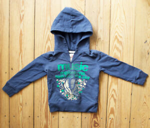 SALE American Outfitters Hoodie Junge blau Gr. 4A / 4 Jahre NEU