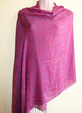Silk blend, printed Water Shawl/Scarf, Made in Nepal