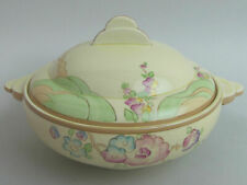 CLARICE CLIFF ART DECO CHIPPENDALE TREES NEWPORT POTTERY TUREEN 1930's