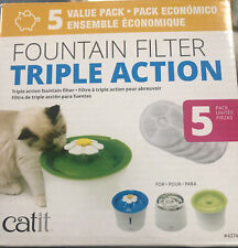 Catit 43746 Cat Water Fountain Replacement Filters - White
