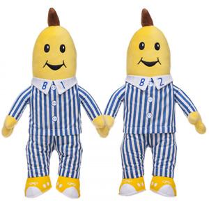 Bananas in Pyjamas Large Classic Soft Toy Plush 45cm - B1, B2 or Set of 2