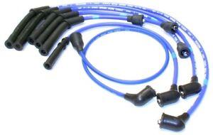 NGK Super Blue Racing 7mm Spark Plug Wire Set fits 86-89 Hardbody Pickup D21 V6