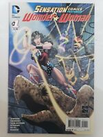 SENSATION COMICS WONDER WOMAN #1 (2014) ETHAN VAN SCIVER JOKER! HARLEY QUINN