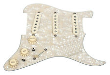 Fender Custom Shop 69 Pickups Loaded Strat Pickguard Aged Cream on Aged Pearl US