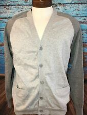 Five Four Club Gray Cardigan Sweater Large L New NWT Men's Poggy