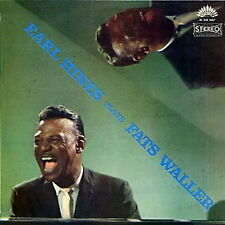 "12"" Earl Hines plays Fat Waller (America Records) JAZZ (Jitterbug Waltz)"