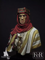 1:12 BUST Resin Figure Model Kit Lawrence of Arabia Unassambled Unpainted