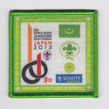 2015 World Scout Jamboree AFRICA MAURITANIA SCOUTS Contingent Patch ~ RARE