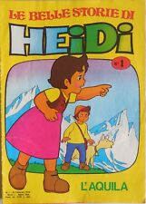 LOTTO LE BELLE STORIE DI HEIDI SEQUENZA 6-23 + N.1-4-6 EDIERRE 1978