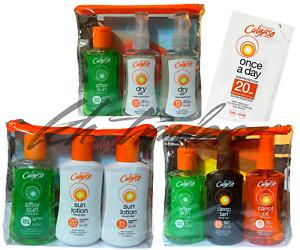 Calypso Travel Tanning Oil, After Sun Aloe Vera, Carrot Oil , Lip Balm