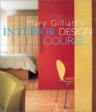 Mary Gilliatt's Interior Design Course (Decor Best-Sellers), Gilliatt, Mary, Goo