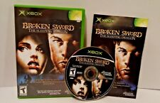 Broken Sword The Sleeping Dragon Xbox Complete CIB Adventure Company