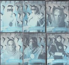 1995 MIGHTY MORPHIN POWER RANGERS THE MOVIE HOLOGRAM SET CHASE CARDS