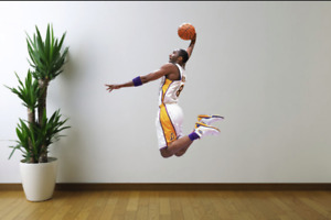 Kobe Bryant Los Angeles Lakers Fathead Style Wall Decal Sticker