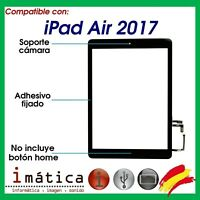 PANTALLA TACTIL IPAD AIR 2017 DIGITALIZADOR NEGRA 5 A1822 A1823 NEGRO CRISTAL