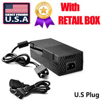 US SHIP Power Supply AC Adapter Charger Cord Cable for Microsoft XBOX ONE dis