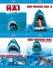 Der weisse Hai 1 + 2 + 3 +  4 Collection (Roy Scheider) Jaws     | Blu-ray | 066