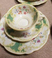 11 Sets Vintage 1940u0027s Seltmann Weiden Floral Porcelain Tea Cup Saucer Plate & Antique Tea Cup u0026 Saucer Set | eBay