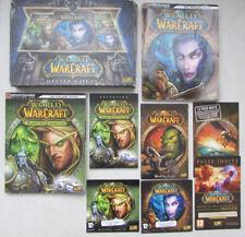 World of Warcraft Battle Chest Blizzard / 2 DVD Rom XP 2000 Vista Macintosh...