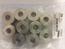 "(10 pc)  1.5"" O.D  .59"" I.D  1.0"" thick 304 Alloy Stainless Washers / Spacer"