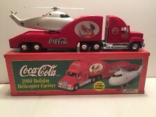 Coca-Cola 2000 Holiday Helicopter Carrier Limited Edition '62 Replica LN in Box