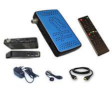 Décodeur satellite Mini format FTA HD 2x USB + déport IR idéal Turksat Nilesat..