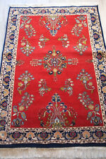 tapis persan Persian rug sarouk sarough lilihan tribal rouge red 190 x 123 cm