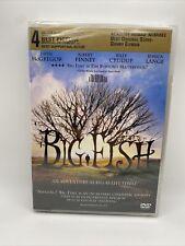 Big Fish (Dvd, 2004) Ewan McGregor, Albert Finney, Billy Crudup, Jessica Lange