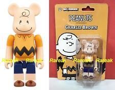 Medicom Be@rbrick 2017 The Peanuts Comic Snoopy 100% Charlie Brown Bearbrick 1pc