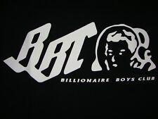 bbc Authentic Style NYC Logo Black Tee cap shirt bape billionaire boys club XXL