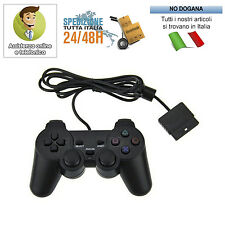 JOYSTICK CON FILO COMPATIBILE PS2 PLAYSTATION 2 JOYPAD CONTROLLER