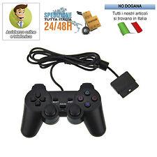 JOYSTICK CON FILO COMPATIBILE PS2 PLAYSTATION 2 JOYPAD CONTROLLER
