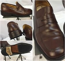 Coach Loafers Shoes Sz 9.5 Brown Mackenzie Made In Italy Worn 5 Times YGI C7-94