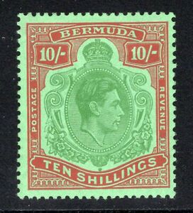 1946 Bermuda. SC#126. SG#119d. Mint, Hinged, VF.
