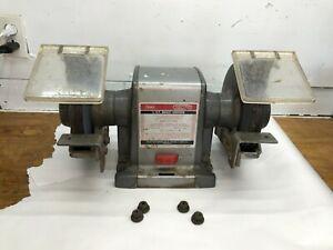 Vintage Craftsman Heavy Duty Commercial 1/2 hp. Bench Grinder 397-19440   7inch
