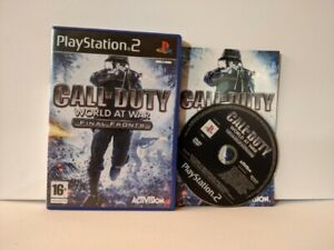 Call of Duty World at War Final Fronts - PS2