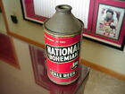 """EARLY 1950'S NATIONAL BOHEMIAN PALE BEER """"SOLEMN EYE"""" CONETOP BEER CAN"""