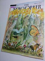 The New Yorker Magazine 4/15/2013  Bribery noir, Gun control [Near Mint issue]