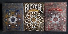 Bicycle Playing Cards - Realms (3 Deck Set) NEW