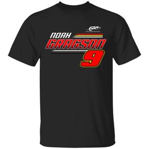 Men's #9Noah Gragson 2JR Motorsports Team Apparel T-Shirt For Fan S-4XL