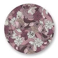 """Pin Button Badge Ø25mm 1"""" Motif Pattern Plante Fleur Flower Bouquet flore"""