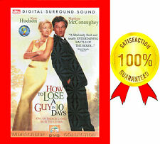 VERY GOOD DVD HOW TO LOSE A GUY IN 10 DAYS  KATE HUDSON MATTHEW McCONAUGHEY*