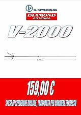DIAMOND V-2000 ANTENNA DA BASE PER 50/144/430 MHz 800007
